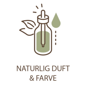 naturlig duft og farve
