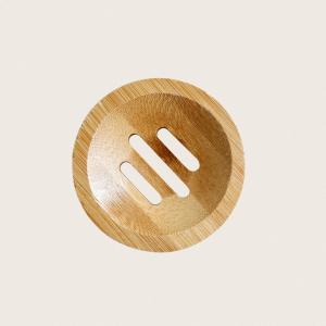 bambus sæbeskål fsc rund