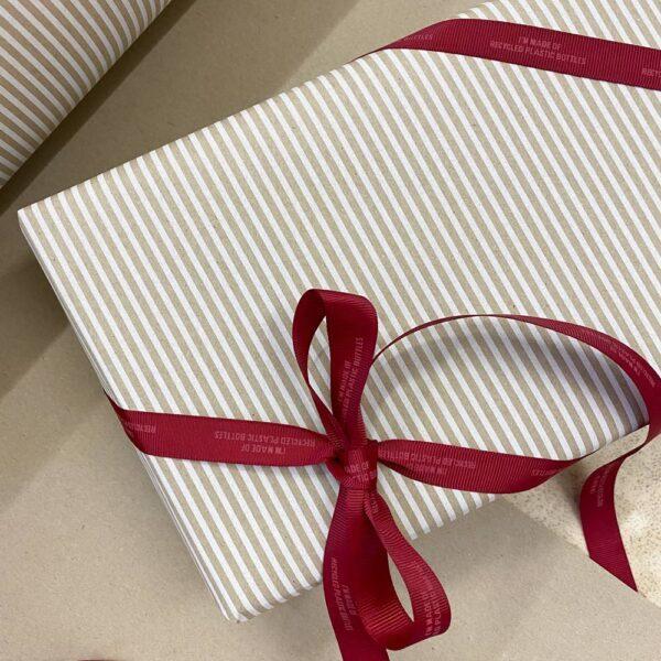 genbrugs gavepapir gavebånd genanvendt