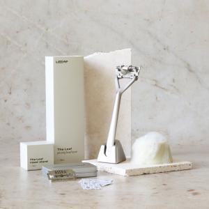 leaf shave skraber kit silver