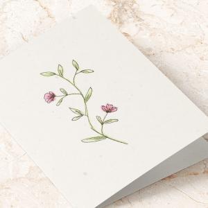 plantbart kort blomst