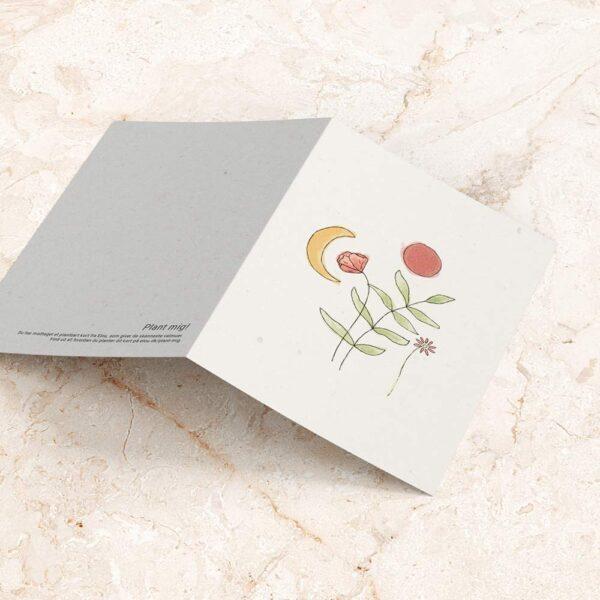 plantbart kort