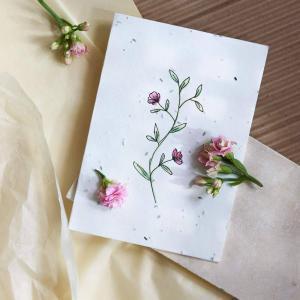 plantekort vilde blomster