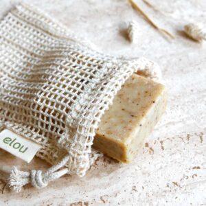 sæbepose økologisk bomuld