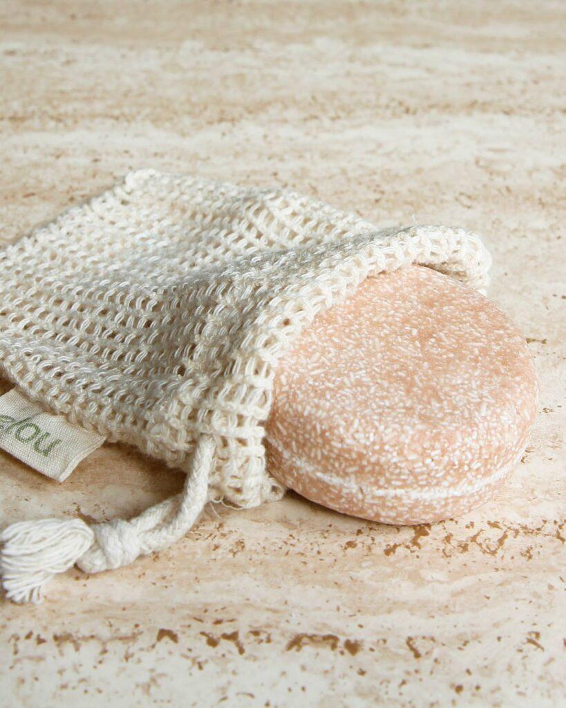 økologisk sæbepose