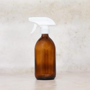 sprayflaske glasflaske triggerspray hvid
