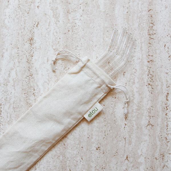pose til sugerør økologisk bomuld