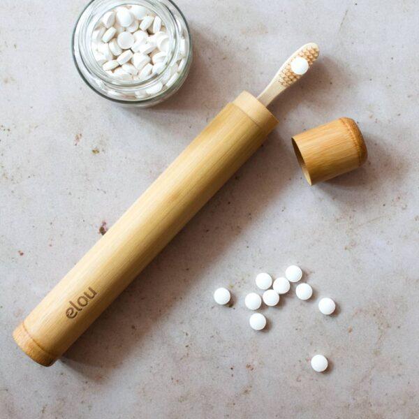 tandbørsteetui bambus